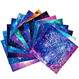 Origami-Papier 150 Blätter DIY Handwerk 12 Verschiedenen Einzigartigem Design Origami-Papier 15x15 cm Doppelseitig Konstellation Nachthimmel OrigamiPapier Sternschnuppen der Sterne Origami Papier