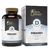 Dreamer - Mit 5-HTP, L-Tryptophan, GABA, Hopfen, Melissenextrakt & Schwarzer Peffer - 120 Kapseln - Laborgeprüft - Hochdosiert - Vegan - 100% natürlich