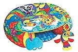 Playgro Activity Spiel- und Sitzkissen, Aufblasbar, Ab 6 Monaten, Sit Up and Play Activity Nest, Mehrfarbig, 40192