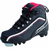 Tecno Pro Ultra IDE Langlauf - Schuh Herren schwarz für Salomon Profil Bindung SNS, Größe:47