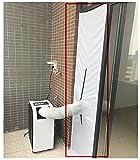 G&M only 48 x 210 cmAirLock Fensterabdichtung für mobile Klimageräte und Ablufttrockner(max. Türgröße 50 x 210cm) (210 x 48 cm Weiß)