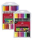Faber-Castell Doppelfasermaler (20er Etui Standardfarben + 10er Etui Neon)