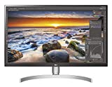 LG 27UL850-W 68, 58 cm (27 Zoll) UHD 4K IPS Monitor (HDR10, USB Type-C, 99% sRGB, AMD Radeon FreeSync), schwarz weiß