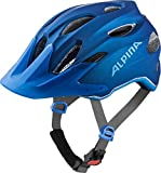 Alpina Unisex Jugend Carapax Fahrradhelm, Blue, 51-56 cm