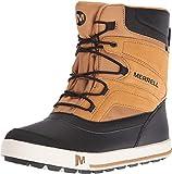 Merrell Jungen ml-b Snow Bank 2.0 Waterpoof Trekking-& Wanderstiefel, Braun (Wheat/Black), 38 EU