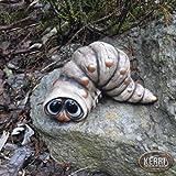 Kerri-Keramik Raupe Wurm Gartendeko Wurmfigur