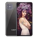 CUBOT C30 Smartphone ohne Vertrag 8 + 128 GB,48MP AI Quad-Kamera,6,4 Zoll FHD Punch-Hole Display, 4200mAh Akku, Globales 4G LTE Dual SIM Handy Android 10.0 NFC Face ID Fingerabdruck(Schwarz)