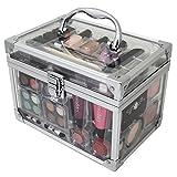 ZMILE Cosmetics Schminkkoffer Acrylic, Acryl-Koffer mit 42 teiligem Schmink-Set