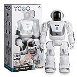 Silverlit – 88071 – Programm A BOT X – YCOO – programmierbarer Roboter – mit Bewegungssensoren – ab 5 Jahren – weiß – 40 cm