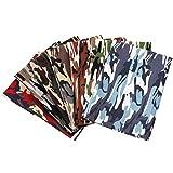 Gukasxi 7 Stück 48x48cm Baumwollstoff meterware Stoffpaket, Baumwollstoff Stoffpaket für Patchwork DIY Nähen Paket Kunsthandwerk
