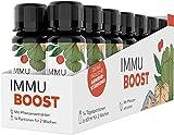 ImmuBoost® Shot   14 Shots   1 Tag 1 Shot   Immunsystem stärken   2 Wochen Immunkur durch Vitamin C & Zink   Mit Ingwer Acerola & Magnesium   Immunsystem-Komplex Abwehrkräfte   vegan & hochdosiert