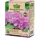 Florissa Natürlich 58589 BIO Rhododendron Dünger mit ProtoPlus für schöne Blüten - auch für Hortensien, Eriken, Azaleen, Heidelbeeren und alle Moorbeetpflanzen | biologisch GÄRTNERN Gütesiegel, Braun