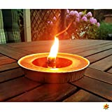 Alu Flammschale 16 cm, Brennzeit 8 Stunden (10)