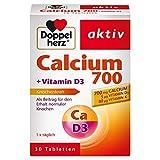 Doppelherz Calcium 700 + Vitamin D3, 30 Tabletten