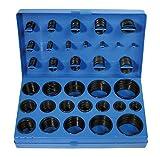 BGS 8045 | O-Ring-Sortiment | 419-tlg | Ø 3 - 50 mm | säure-, benzin-, hitze und ölbeständig | aus NBR gefertigt | im Koffer