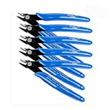 Mini Drahtschneider 5 Stück Elektronik Seitenschneider Diagonal Cutting Pliers Flush Zangen Wire Kabel Cutter Durable 170 Multifunktionale Kabelschneider