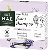 N.A.E. Naturale Antica Erboristeria semplicità festes shampoo, COSMOS Organic zertifiziert durch IONC (BDIH) & Vegane Formel, 85 g