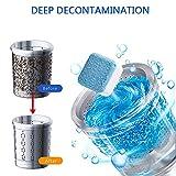 10Pcs Professionelle Waschmaschine Reinigungstablette Tiefenfleckenentferner Waschmaschine Reiniger   Beseitigt unangenehmen Geruch, Spülmaschine Entkalker