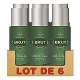 Brut Herren-Deodorant, Spray 200 ml, 6er-Pack