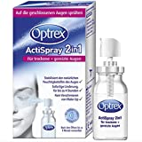 Optrex ActiSpray 2in1 Liposomales Augenspray für trockene & gereizte Augen, auch bei Kontaktlinsen, 10ml