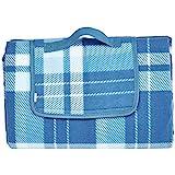 AmazonBasics - Picknickdecke, campingdecke mit wasserdichter Unterseite, 150 x 195 cm