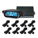 KKmoon Parksensoren 8 / Sensoren Elektronik Cars Einparkhilfe Rückfahr Radar Car Detector Einparkhilfe Parking