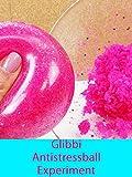 Glibbi Antistressball | Schleim für die Badewanne im Antistressball | Experiment!