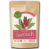 Sumach (Sumac/Sumak) Gewürz gemahlen 250g |100% naturell - traditionell frisch - schonend getrocknet und gemahlen, ohne Konservierungsstoffe | (Sumachpulver - Sumach gemahlen )