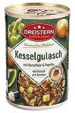 DREISTERN Kesselgulasch, köstliche Kombination aus Schweinefleisch & Gemüse, 400 gramm