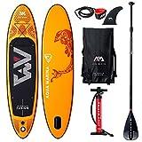 Aqua Marina Aufblasbare Sup Paddle Stand AQUAMARINA Fusion 2019 Komplette Packung 315x76x15cm