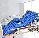 Summer Antidekubitus Matratze, Wechseldruck aufblasbare Matratze, abnehmbare Druckpumpe und Maus-Pad, mit Bettpfanne Geschwüre Prävention, Behandlung Bettruhe