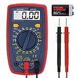 AstroAI Digital Multimeter mit Ohm Volt Ampere Spannung Tester Messung von AC/DC Spannung, DC Strom, Widerstand, Diode, Kontinuität Messinstrument mit Hintergrundbeleuchtung