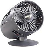 Sichler Haushaltsgeräte Ventilator Turbine: Designer-Objekt: Tischventilator im Turbinen-Look, Ø 15 cm, 33 W (Retro Ventilator leise)