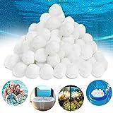 Filter Balls, 500G FilterbäLle, Filter Balls FüR Sandfilteranlagen Und Kartuschenfilter, FilterbäLle Pool Ersetzen 18Kg Filtersand, Effizienter Filterung Pool Filter Balls, FüR Salzwasser Geeignet