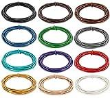 AURORIS - 5m Lederband rund Ø 2 mm - Farbe wählbar - Variante: schwarz
