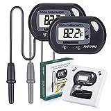 Aquarium Thermometer, RISEPRO® Digital Wasser Thermometer für Aquarium Aquarium Marine Temperatur