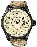 Citizen Herren-Armbanduhr Analog Nylon Quarz AW1365-19P