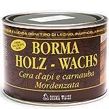 BORMA WACHS 500ml Holzwachs EN-71/3 Zertifiziert (52 - Eiche dunkel)