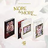 JYP Entertainment Twice - More & More (9th Mini Album) Album+Pre-Order Benefit+Folded Poster+Extra Photocards Set (A+B+C ver. Set)