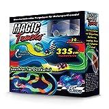 Magic Tracks Starter Set | Autorennbahn für Kinder ab 3 Jahren | Autobahn Kinder | Auto Spielzeug Set | Autorennbahn Leuchtend