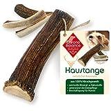 ChronoBalance® Geweih-Kaustange S (halbiert) für Hunde - 100% Hirschgeweih - Kauspielzeug, Zahnpflege, Kausnack, Geweih, Kauknochen, Kaugeweih