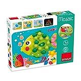 Jumbo Spiele D53136 Mosaik Spiel Holzspielzeug für Kleinkinder, Ab 3 Jahren