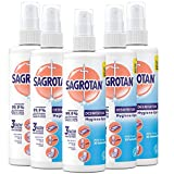Sagrotan Hygiene Pumpspray, antibakterielles Desinfektionsmittel, 5er Pack (5 x 250 ml)