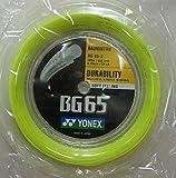 Yonex BG 65 - 2 Yellow Badmintonsaite 200 m