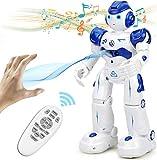 NEWYANG Roboter Spielzeug für Kinder, RC und Geste Steuerung, Aufladen mit USB-Kabel,Singender und Tanzender Roboter, Programmierung Ferngesteuerter Roboter Geburtstags Innenspielzeug