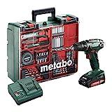 Metabo 602207880 Akku Bohrschrauber BS 18 Mobile Werkstatt Set