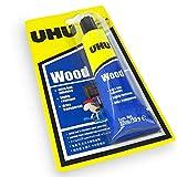 UHU Holzkleber - extra schnell haftender Kleber - lösungsmittelfrei - 27ml