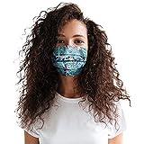 ZHX 5 Stück Atmungsaktive Mundmasken Schutztuch Gesichtsschutz Schutzhülle Outdoor Schutztuch staubdicht Winddicht Mund Schal für die persönliche Gesundheit Einstellbar Sportmaske (LB)