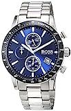 Hugo Boss Herren Chronograph Quarz Uhr mit Edelstahl Armband 1513510