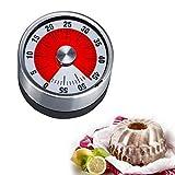 Westmark Kurzzeitmesser/Küchentimer, mechanisch, magnetisch, 1-60 Minuten, Edelstahl/Kunststoff, Anthrazit/Silber, 10902260